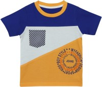 Mom&Me Printed Baby Boy's Round Neck T-Shirt - TSHE7CJXGVSFGVCG