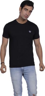 B2 Solid Men's Round Neck T-Shirt