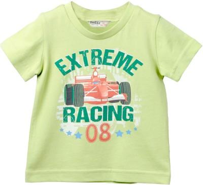 Beebay Graphic Print Boy's Round Neck T-Shirt
