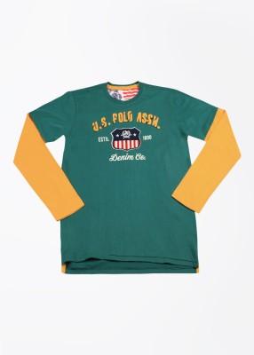 US Polo Boy's T-Shirt