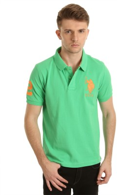 U.S. Polo Assn. Solid Men,s Polo T-Shirt