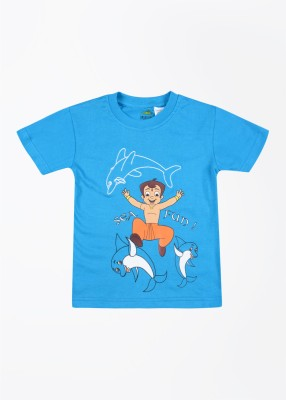 Chhota Bheem Printed T-Shirt for Boys at Low Price of Rs 179 -10% Off from Flipkart
