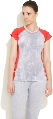 SwirlGear Printed Women's Round Neck T-Shirt