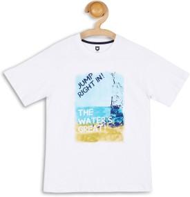 612 League Graphic Print Boy's Round Neck T-Shirt - TSHEFHZGP3T62ZHD