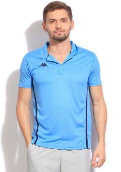 Kappa Solid Men's Polo T-Shirt