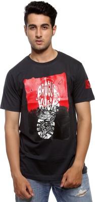 Avejack Graphic Print Men's Round Neck T-Shirt