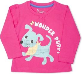 Max Graphic Print Girl's Round Neck T-Shirt - TSHE4CERNWASXZE6