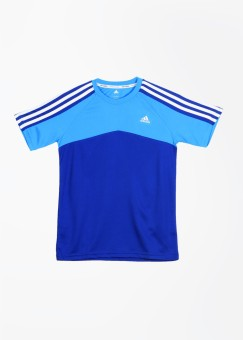 Adidas Solid Girl's, Boy's Round Neck T-Shirt
