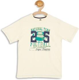 612 League Graphic Print Boy's Round Neck T-Shirt - TSHEFHZGUGB7BXMJ