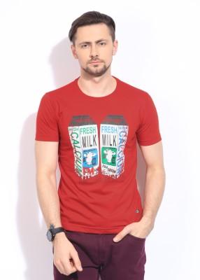 Duke DUKE Printed Men's Round Neck T-Shirt (Multicolor)