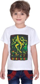 Tantra Graphic Print Boy's Round Neck T-Shirt