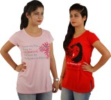 Tryd Printed Women's Round Neck T-Shirt