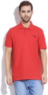 Puma Solid Men's Polo T-Shirt