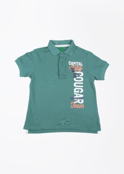 United Colors Of Benetton Solid Boy's Polo T-Shirt