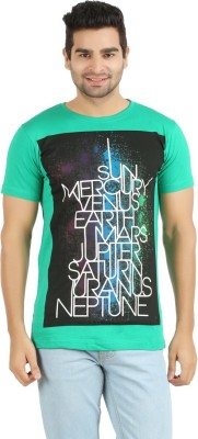 Elroe Printed Men's Round Neck T-Shirt