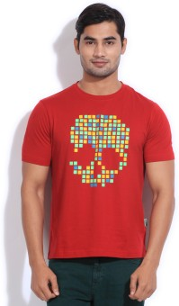 Style Quotient By Noi Printed Men's Round Neck T-Shirt