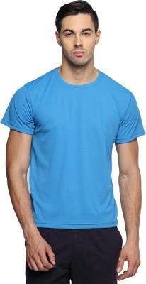 TerraVulc Solid Men's Round Neck T-Shirt
