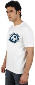 Go Untucked Printed Men's Round Neck T-Shirt