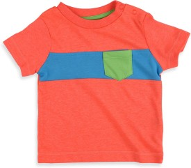 Mothercare Striped Boy's Round Neck T-Shirt