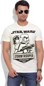 Star Wars Printed Men's Round Neck T-Shirt - TSHEYHZ4ZG8VYYHG