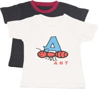 TSG My Kid Printed Baby Boy's, Baby Girl's Round Neck T-Shirt (Pack Of 2) - TSHED8AUHMYCXCZT