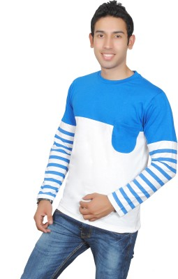 Brand Teez Solid Men's Round Neck T-Shirt