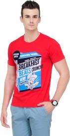 Yepme Graphic Print Men's Round Neck T-Shirt