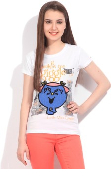 Mr. Men Little Miss Women's White T-Shirt