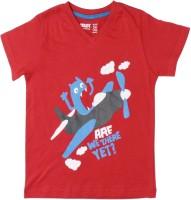 Max Printed Boy's V-neck T-Shirt