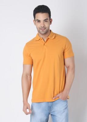 Buy Rat Trap Solid Men's Polo Neck T-Shirt: T-Shirt