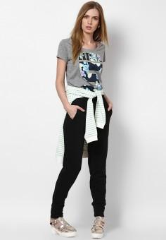 Vero Moda Geometric Print Women's Round Neck T-Shirt
