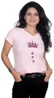 Golden Couture Graphic Print Women's V-neck T-Shirt - TSHEYRFBKXZ2KUCH