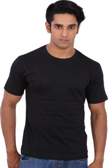 Rattrap Solid Men's Round Neck T-Shirt