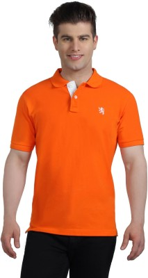 The Cotton Company Solid Men's Polo Neck T-Shirt