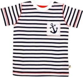 PRANAVA Striped Boy's Round Neck T-Shirt