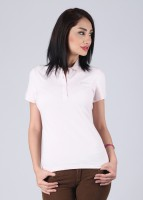 Lotto Solid Women's Polo Neck T-Shirt