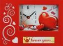 Feelings Love Analog Clock (Red)