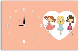 Lovely Collection Analog Multicolor Clock