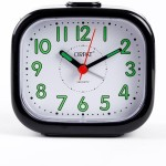 Orpat Table Clocks Orpat Analog Black Clock