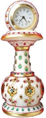 JaipurCrafts Table Clocks JaipurCrafts Analog Multicolor Clock