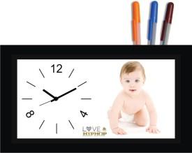 Regent Analog Multicolor Clock