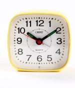 Orpat Table Clocks Orpat Analog Yellow Clock