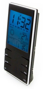 Aptron Table Clocks Aptron Digital Black Clock