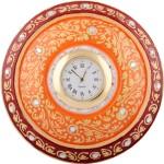 Jupiter Gifts And Crafts Table Clocks Jupiter Gifts And Crafts Analog Red, Orange Clock
