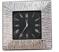 Cherrytin Ornate Sterling Silver Analog Clock - Silver
