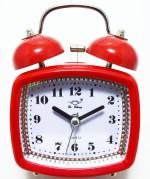 Like Table Clocks Like Analog Red Clock