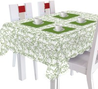 Smart Home Floral 2 Seater Table Cover Green, Cotton