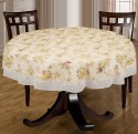 Bianca Anti Skid Table Cover - Multicolor, Pack Of 1 - TCVE2T3RNZGNX7KW