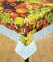 Katwa Clasic Printed With Non-woven Backing 6 Seater Dining Table Cover - Multicolor, Pack Of 1 - TCVE2T2ZHXUN8BAK