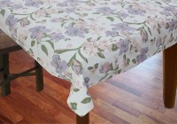 R Home Printed 4 Seater Table Cover Multicolour, Cotton